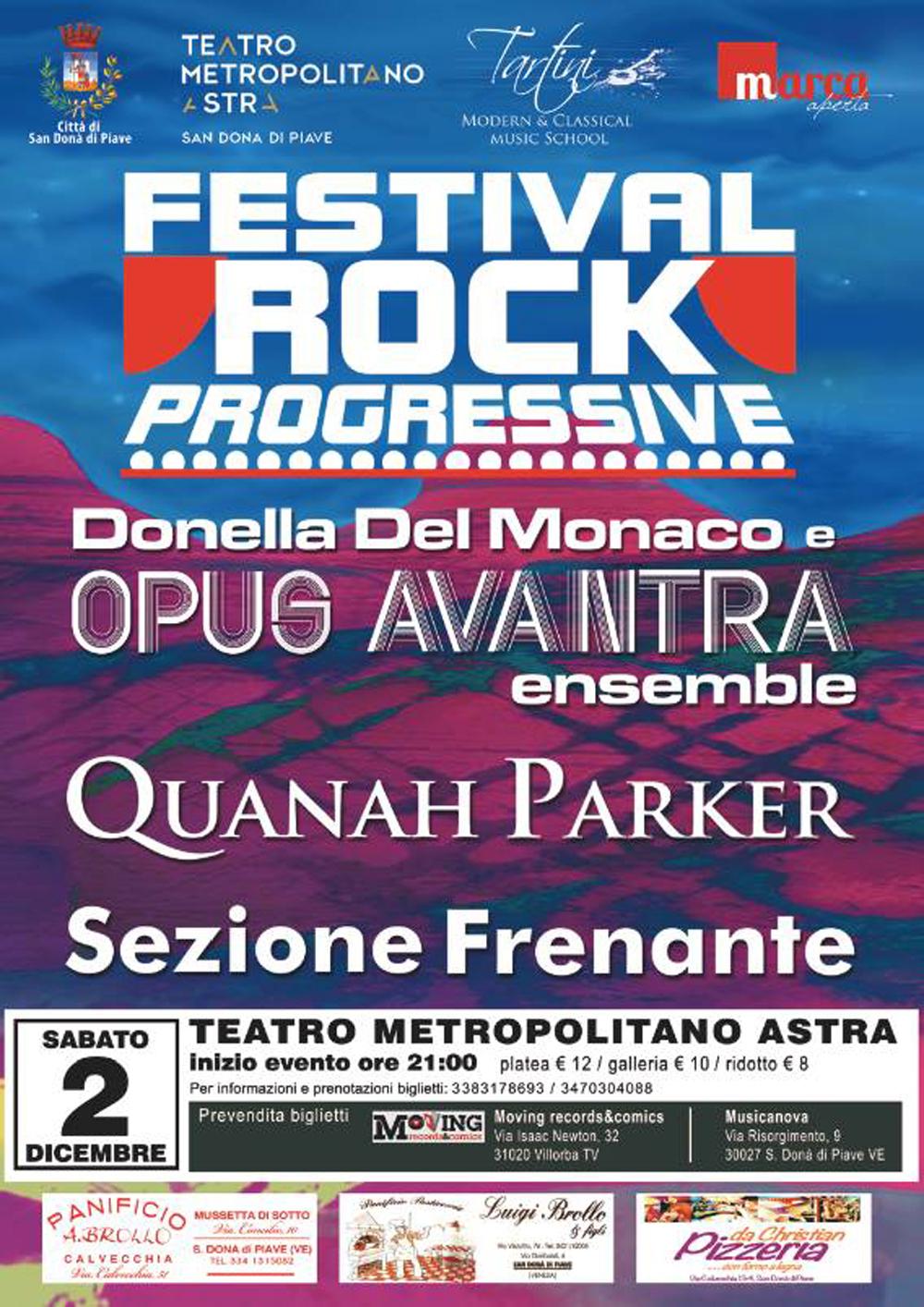 Sezione Frenante al Teatro Astra di San Donà di Piave 02-12-17